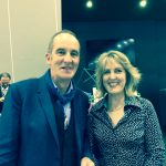 Fiona McKenzie rubs shoulders with Mr Grand Designs