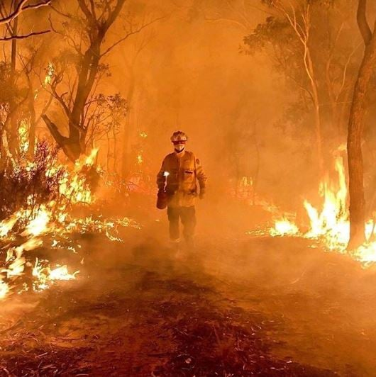 Bushfires are part of Human-induced Climate Damage